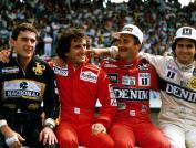 O quarteto dominante, em 21 de setembro de 86. Teremos hoje novas lendas?