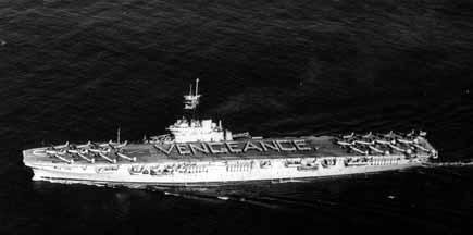 HMAS Vengeance, a serviço da Austrália.