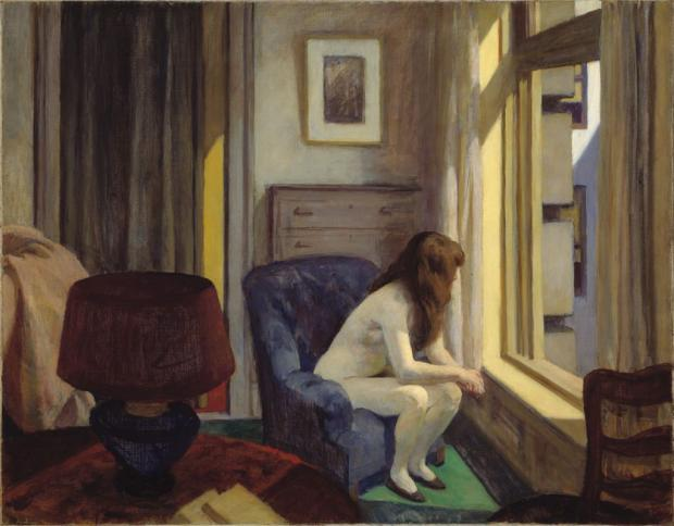 """Eleven AM"", de Edward Hopper (1926)"