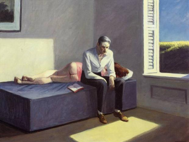 """Excursion into Philosophy"", de Edward Hopper (1959)"