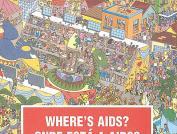 Ninguém sabe onde está a AIDS.