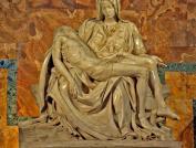 Pietá, por Michelangelo