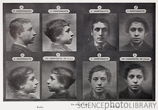 """""""O Tipo Judeu"""" (1878), uma tentativa de estabelecer quais seriam as características antropométricas e frenológicas que determinariam o tipo judeu. Os nazistas adoraram essas pesquisas.'"""