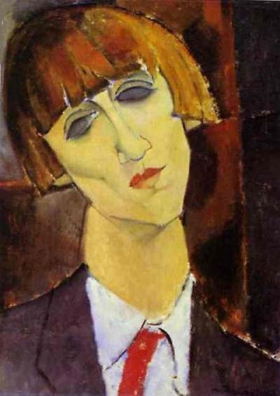 """Madame Kisling"" (1917) Amedeo Modigliani"