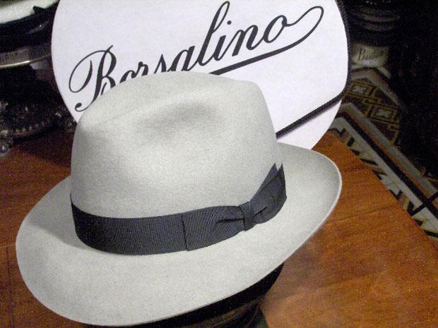 6e690d191ede5 A marca Borsalino é tão conhecida que o seu nome virou sinônimo para o  chapéu em países como Brasil e França