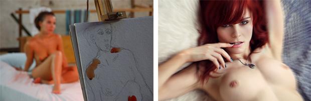 Como fotografar uma mulher nua
