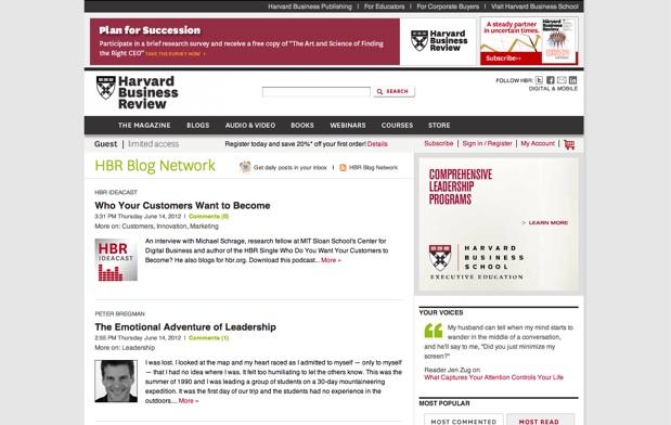 HBR Blog Network