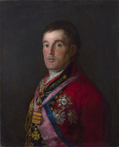 """Retrato do Duque de Wellington"", de Goya"