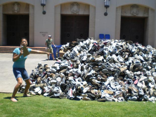 Quantos pares de sapato VOCÊ tem?