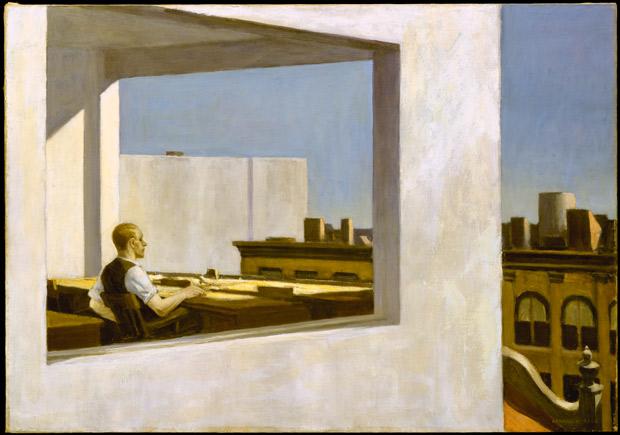 """Office in a Small City"" (1953), Edward Hopper"