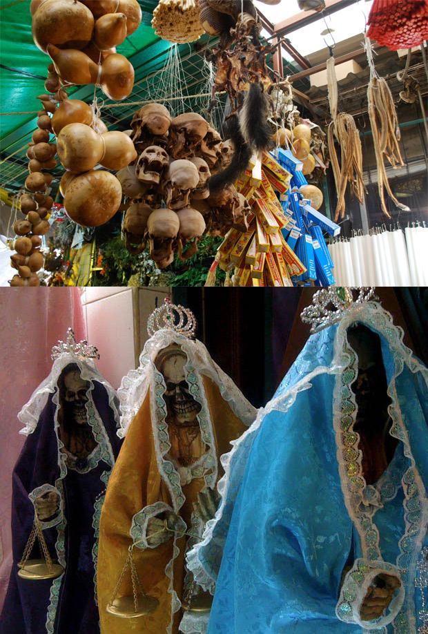 Mercado de Bruxaria em Sonora,Os 8 Lugares mais assustadores da face da Terra