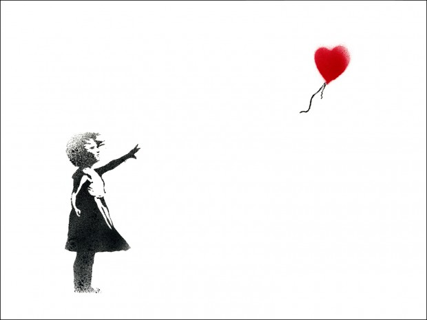Até Banksy ama.