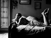Eu, careca. Foto de C. Souza.