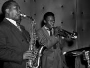 Charlie-Parker-and-Miles-Davis,-1947