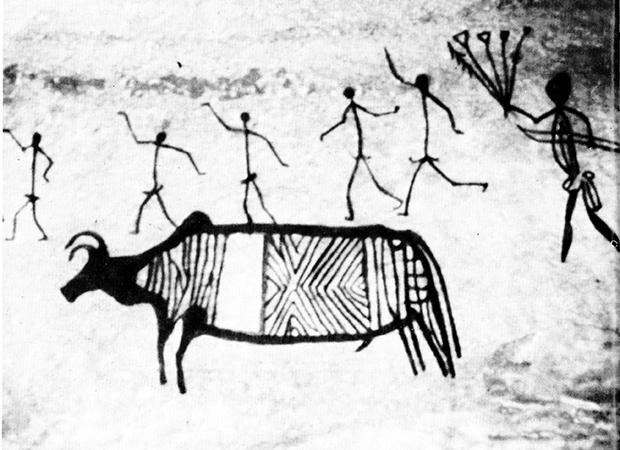 Retrato pré-histórico da caça: desenhar era ter poder