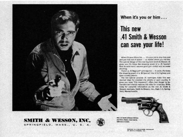 Quando é você ou ele... a nova .41 Smith & Wesson pode salvar sua vida!