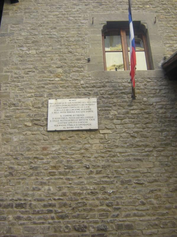 Casa de Dante Alighieri