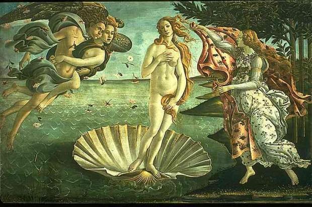 Buscando Botticelli (Imagem: A Musa de Vênus)