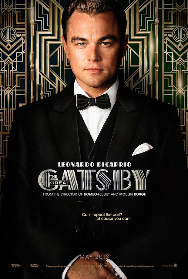 Leonardo DiCaprio interpreta Jay Gatsby na nova adaptação para o cinema