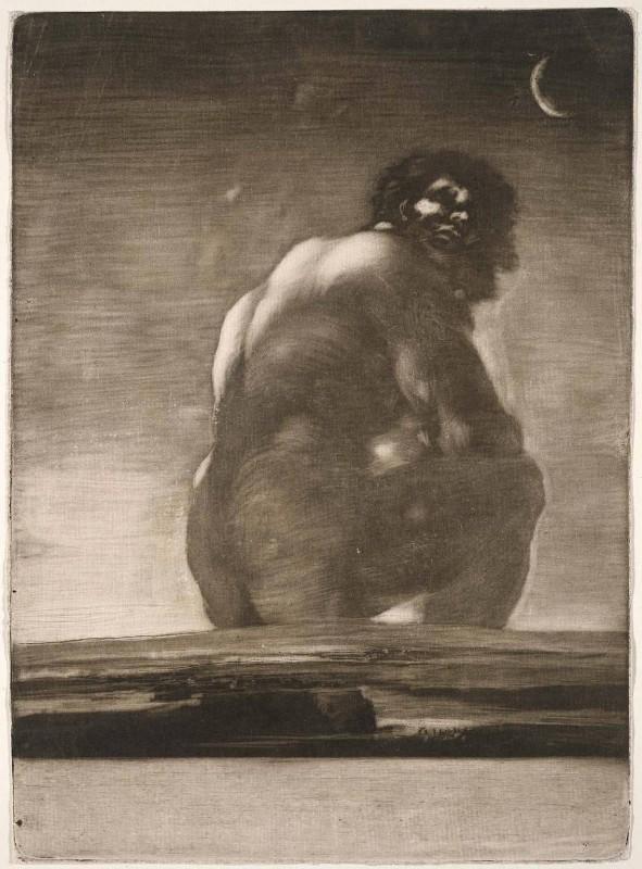Gigante, Goya.