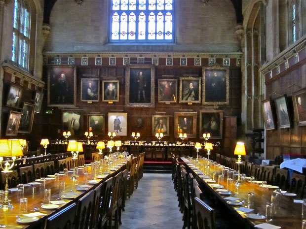 Sala de jantar do Christ Church college