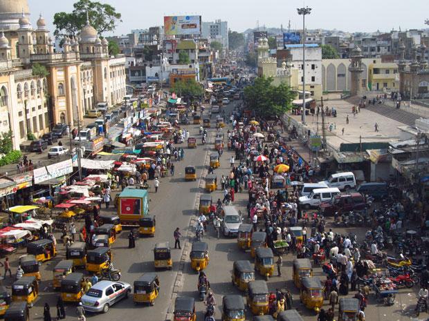 Ruas de Hyderabad