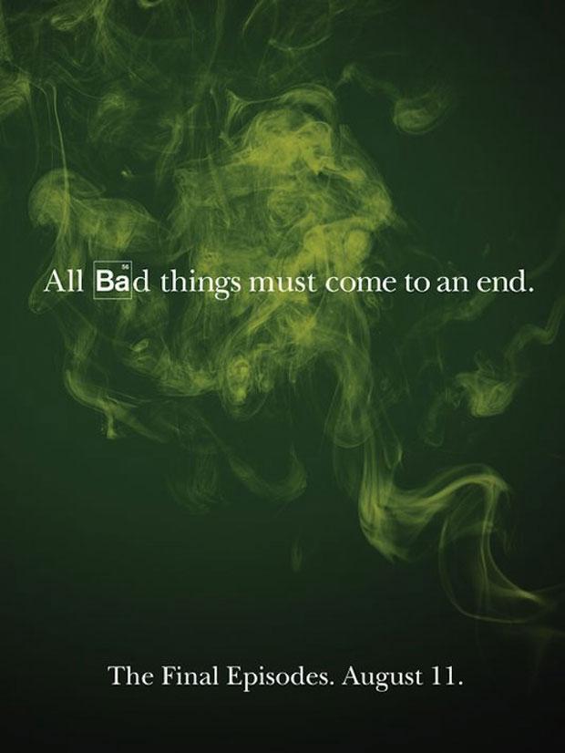 """""""Todas as coisas ruins chegam a um final"""". Assim como as coisas boas, meninos. Não caiam nessa."""