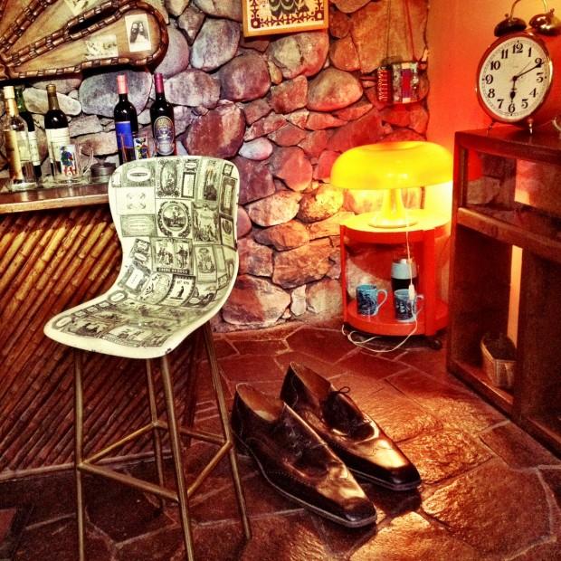 Um dos muitos bares na casa de Neruda, onde gostava de receber amigos como Vinícius de Moraes e Niemeyer