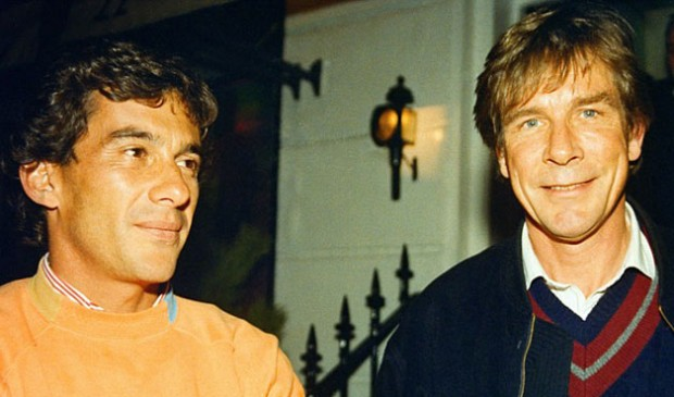 Ayrton Senna e James Hunt