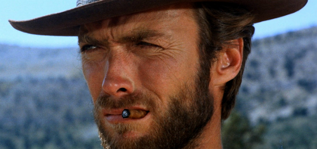Clint Eastwood, especialista no papel do masculino e badass em tempo integral