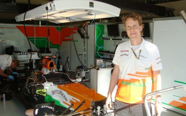 Robert Sattler na Force India