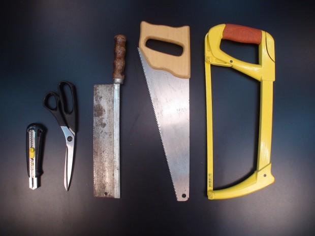 ferramentas de corte manuais