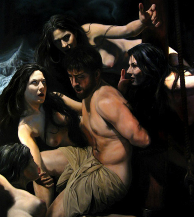 "Eric Armusik, ""Odysseus and the Sirens"" (2008)"