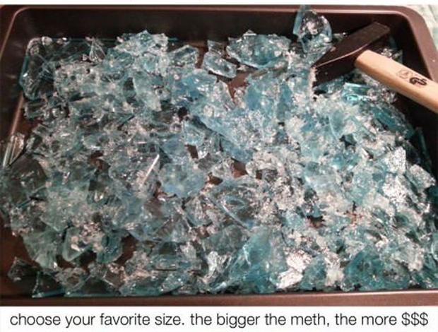 """""""Escolha o tamanho que os pedacinhos terão."""""""