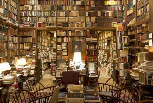 Nessa sala não tem 100.000 livros