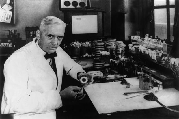 Alexander Fleming: descuidado e genial