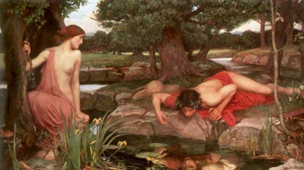 """Echo & Narcissus"" (1903), de John William Waterhouse."