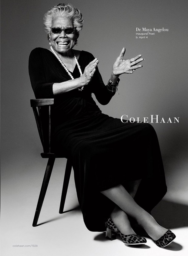 Maya Angelou for cole haan IIHIH
