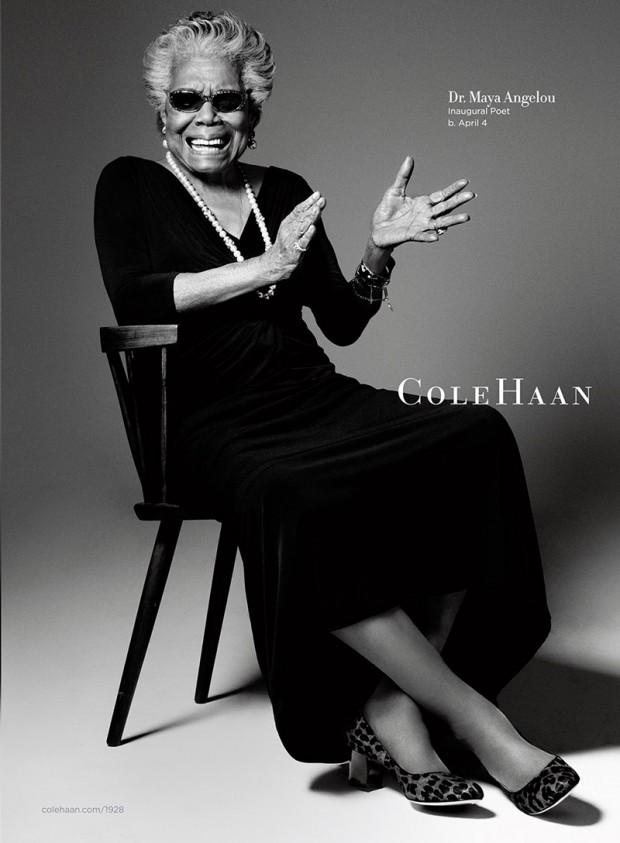 Maya Angelou for cole haan IIHIH