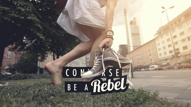 Seja rebelde. Use nossa marca!