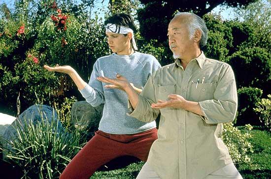 Quanto vale uma aula do Sr. Miyagi?