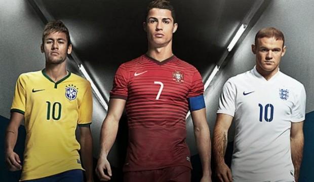 No novo comercial da Nike, de quase 5 minutos, aparecem Cristiano Ronaldo, Neymar Jr., Wayne Rooney, Ibrahimović, Piqué, Higuaín, Mario Götze, Eden Hazard, Thiago Silva, Andrea Pirlo (um jogando e outro não), David Luiz (dois, na verdade), Iniesta, Thibaut Courtois, and Tim Howard.