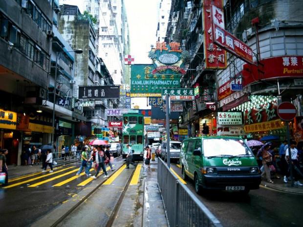 A Cidade-Estado administrada pela China