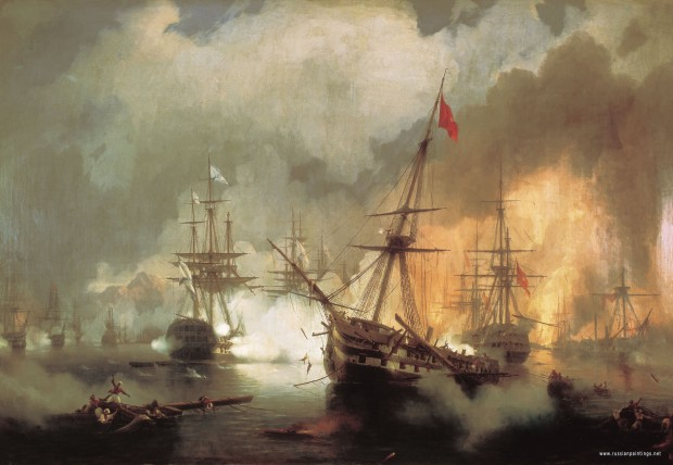 aivazovskiy_sea_battle_near_navarino_1846