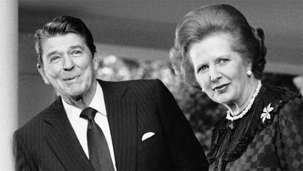Reagan e Tatcher: o seu futuro começou com eles
