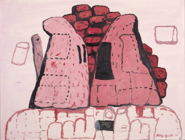 Cornered 1971 by Philip Guston 1913-1980