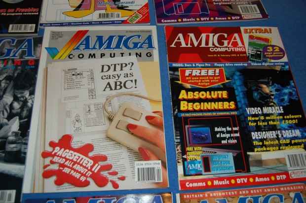 As revistas de Amiga