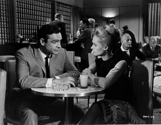 Sean Connery And Tippi Hedren In 'Marnie'